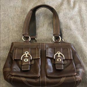 Coach Soho leather satchel